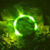 LEUCHTIE Pro Easy Charge LED svietiaci obojok zelený 45 cm