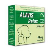 ALAVIS ™ Relax pre psy a mačky 75 mg 20 cps.