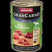 Animonda GranCarno Original Adult hovädzie + kačacie srdcia 400 g