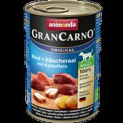 Animonda GranCarno Original Adult hovädzie + údený úhor + zemiaky 400 g