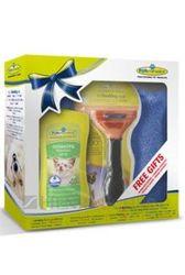 FURminator hrebeň pre stredných krátkosrstých psov + darčeky zdarma