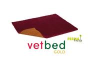 Vetbed® Gold burgundy 100 x 150 cm