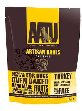AATU Dog Artisan Bakes Turkey - morčacie 150 g