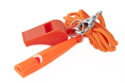 ACME Set jednotónová píšťalka 211 1/2 + 660 oranžový s remienkom
