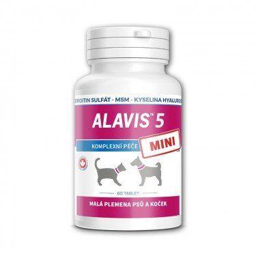 ALAVIS™ 5 MINI pre malé plemená psov a mačiek 60 tbl  / EXSP 6/2019