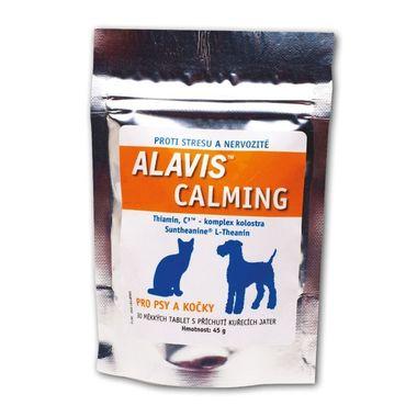 ALAVIS ™ Calming pre psov a mačky 45 g / 30 žuvacích tabliet