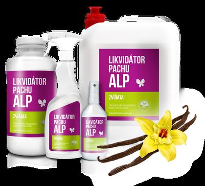 ALP Likvidátor pachu Zvieratá 500 ml vanilka