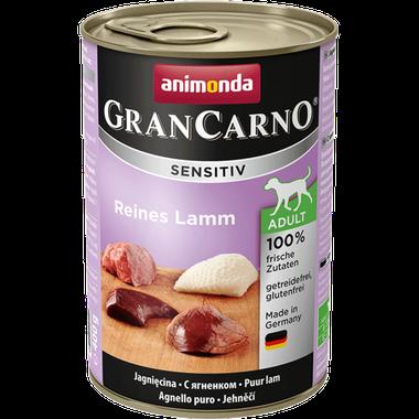 Animonda GranCarno Sensitiv Adult čisté jahňacie mäso 400 g