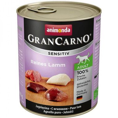 Animonda GranCarno Sensitiv čisté jahňacie 800 g