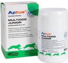 Aptus MULTIDOG JUNIOR prášok 180 g / EXSP 7/2019