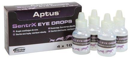 Aptus SENTRX eye drops 4 x 10 ml