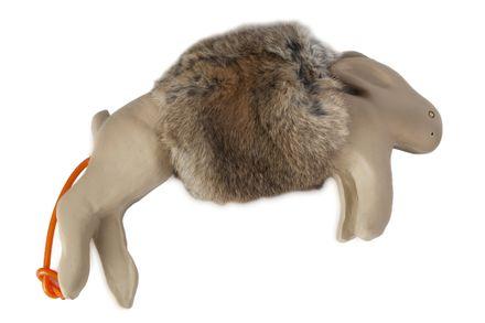 Atrapa zajaca Bunny Dummy Britta malý s kožušinou