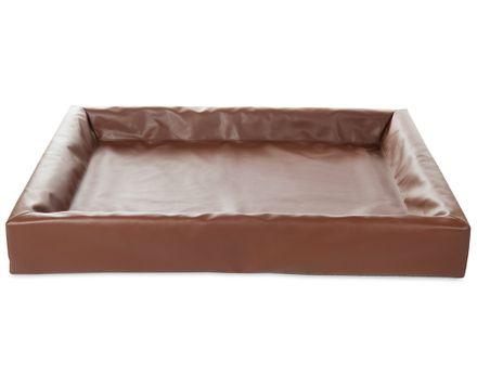 BIA BED 100 x 120 cm hnedý