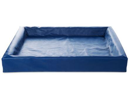 BIA BED 100 x 120 cm modrý
