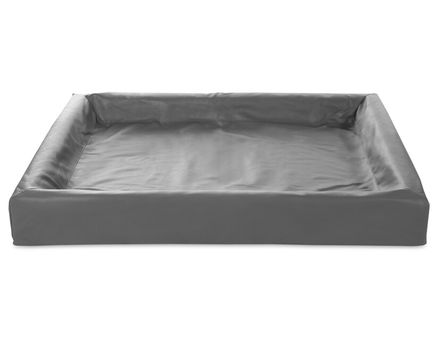 BIA BED 100 x 120 cm šedý