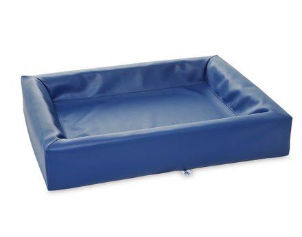 BIA BED 80 x 100 cm modrý