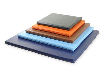 Bia matrac pre psov 50 x 60 x 5 cm modrý