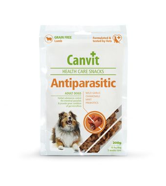 Canvit Health Care Snack Antiparasitic 200 g