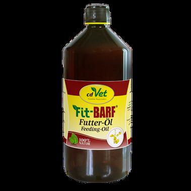 cdVet Ľanový kŕmny olej Fit BARF 1000 ml
