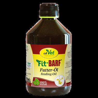 cdVet Ľanový kŕmny olej Fit BARF 500 ml