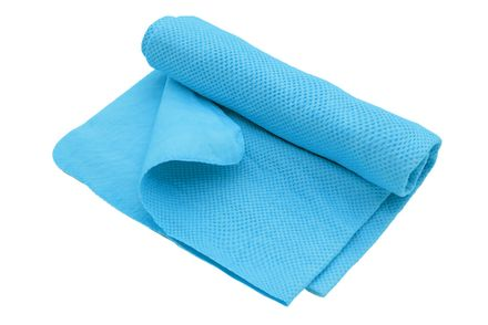 COOL 'N DRY Pet Shammy veľký 43 x 68,5cm modrý