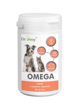 Dromy Omega-3 EPA a DHA 100 tbl.