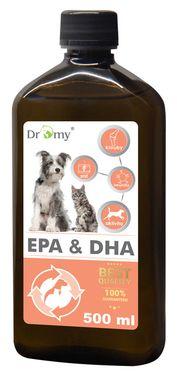 Dromy Omega-3 EPA a DHA olej 500 ml
