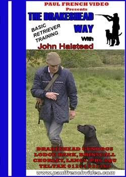 DVD The Drakeshead Way Basic Retriever Training with John Halstead