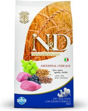 Farmina N&D dog LG Adult Medium jahňa, špalda, ovos&čučoriedka 2,5 kg
