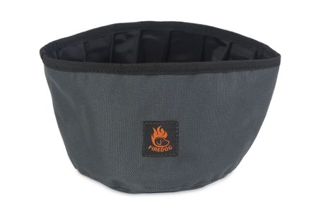 Firedog Cestovná miska 2,0 L šedá