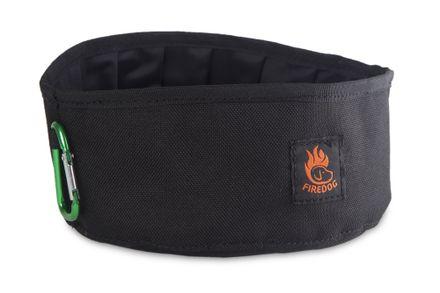 Firedog Click & Go cestovná miska 1,0 L čierna