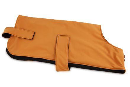 Firedog Softshell oblečenie pre psa Field Trial oranžové/čierne 50 cm XS