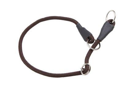 Firedog Sťahovací obojok 8 mm 70 cm hnedý