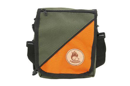Firedog Taška na doklady khaki/oranžová