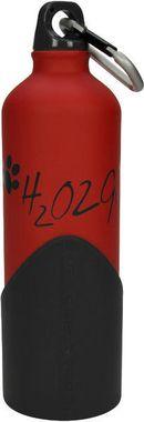 Fľaša na vodu H2O2GO - 750 ml - červená