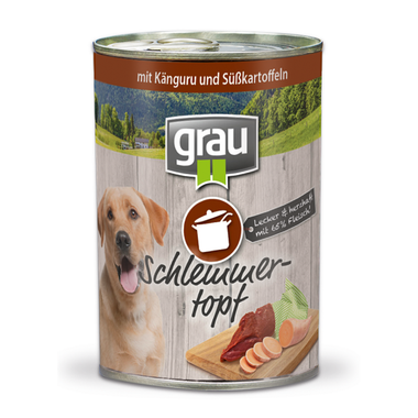 Grau Kengurie mäso a sladké zemiaky 400 g