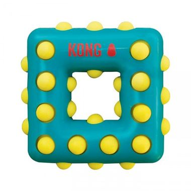 Hračka Kong Dotz štvorec L