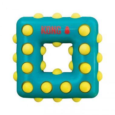 Hračka Kong Dotz štvorec S