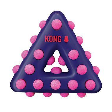 Hračka Kong Dotz trojuholník S