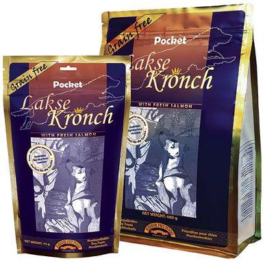 Kronch Lakse Pocket lososová pochúťka 600 g / EXSP 4/2019