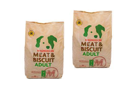 MAGNUSSON Meat&Biscuit ADULT 2 x 4,5 kg dvojbalenie