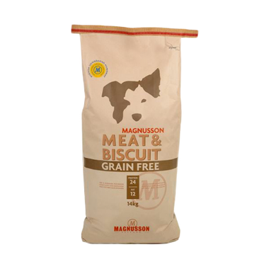 MAGNUSSON Meat&Biscuit GRAIN FREE 2 x 14 kg