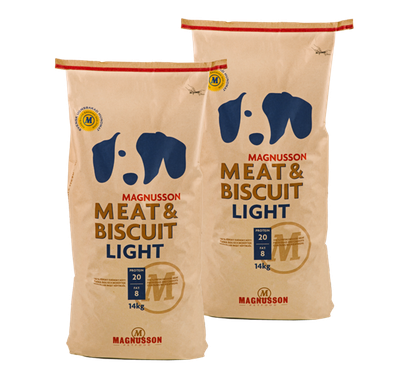 MAGNUSSON Meat&Biscuit LIGHT 2 x 14 kg dvojbalenie