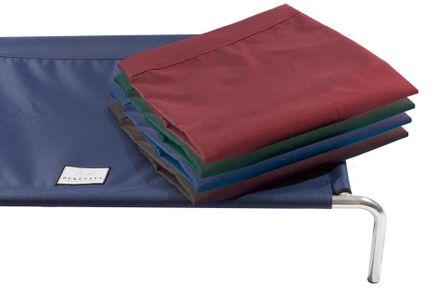 Náhradný nepremokavý poťah na vyvýšenú posteľ XL burgundy