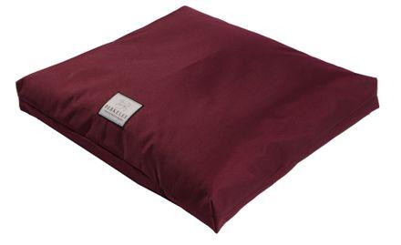 Nepremokavý ortopedický matrac pre psov L 110 x 75 cm burgundy