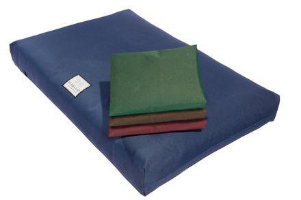 Nepremokavý ortopedický matrac pre psov XL 140 x 90 cm zelený