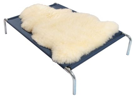 Ovčie rúno na vyvýšené postele