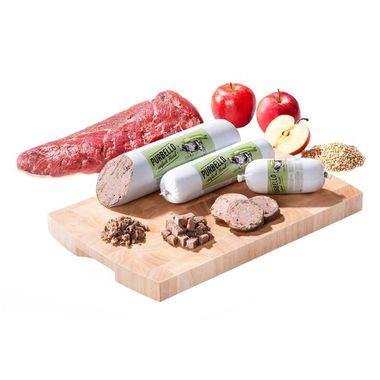 PURBELLO – hovädzie mäso s jablkom a pohánkou 200 g