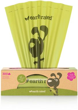 Sáčky na exkrementy Earth Rated s vôňou 300 ks