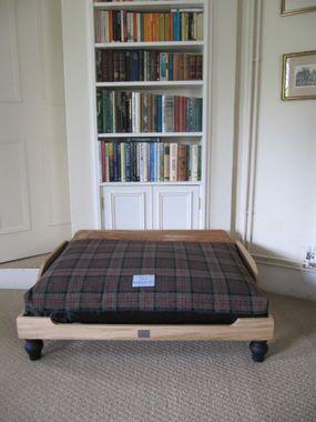Tartanový luxusný poťah na matrac S/M zelený